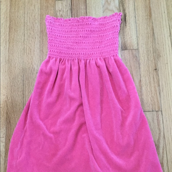 61e102e736 Juicy Couture Dresses   Skirts - Juicy Couture Terry Cloth Tube Dress